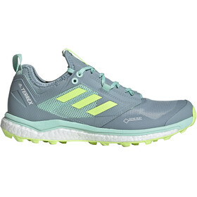 adidas TERREX Agravic XT GTX Zapatillas Mujer, ash grey/hi-res yellow/clear mint